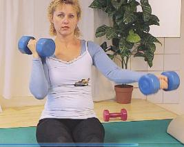 Bovenarm vesterken (biceps)