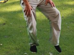 Tai chi vier richtingenloop (zonder armen)