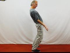 Chi Qong balans-wiegende beweging