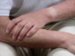 Instructie massage eigen onderarm