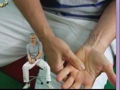 Handmassage-meditatie